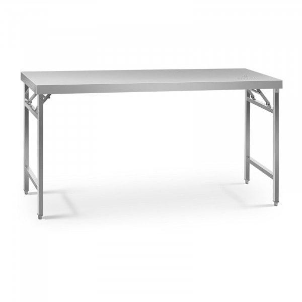 Sammenleggbart arbeidsbord - 60 x 180 cm - 230 kg bæreevne