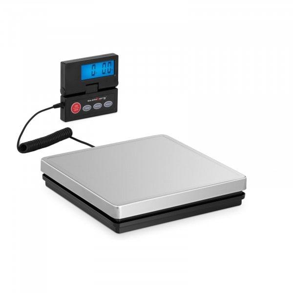 B-varer Digital pakkevekt - 50 kg / 10 g - 25 x 25 cm - eksternt LCD-display