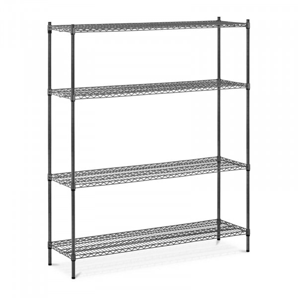 B-varer Metallhylle - 150 x 45 x 180 cm - 1000 kg - grå