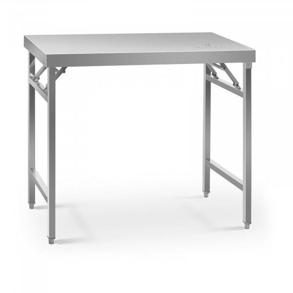 Sammenleggbar arbeidsbenk - 60 x 100 cm - 200 kg bæreevne