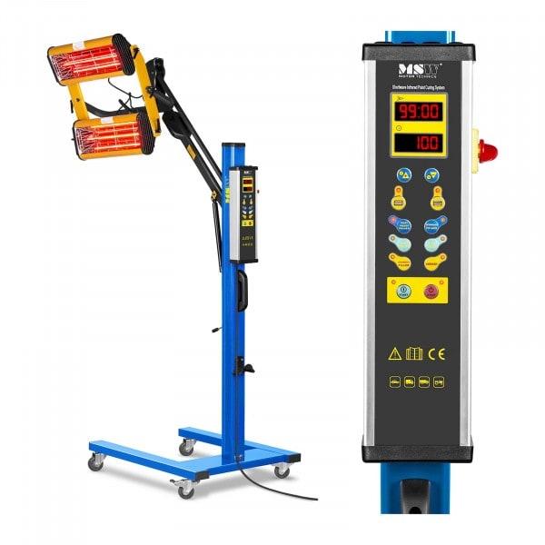 IR-tørker - 2.200 W - 2 lamper- digital display