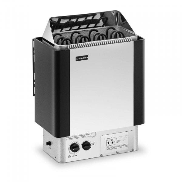 B-varer Badstuovn - 6 kW - 30 til 110 °C - inkl. kontrollpanel