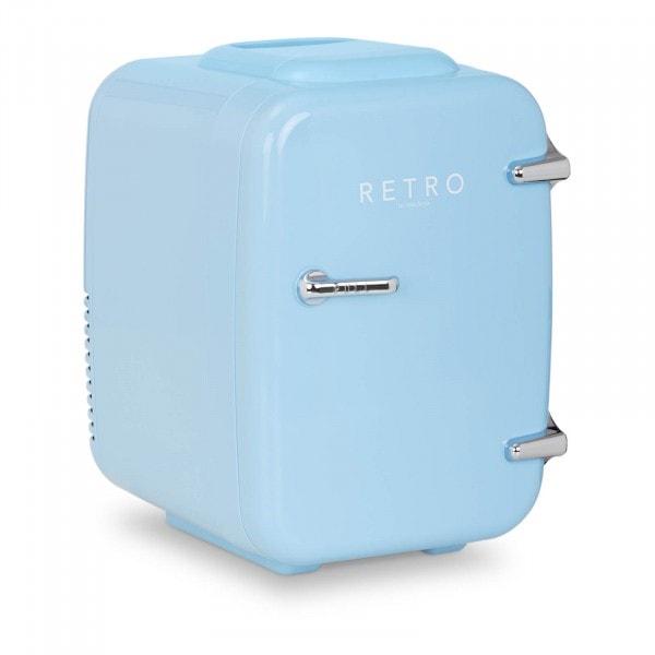 B-varer Mini-kjøleskap - 4 liter - blått