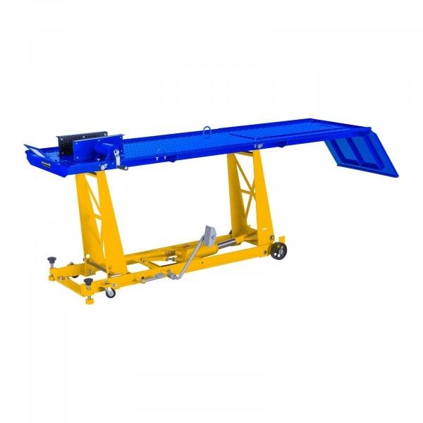 MC-løfter - 450 kg - 220 x 68 cm - Forhjulklemme