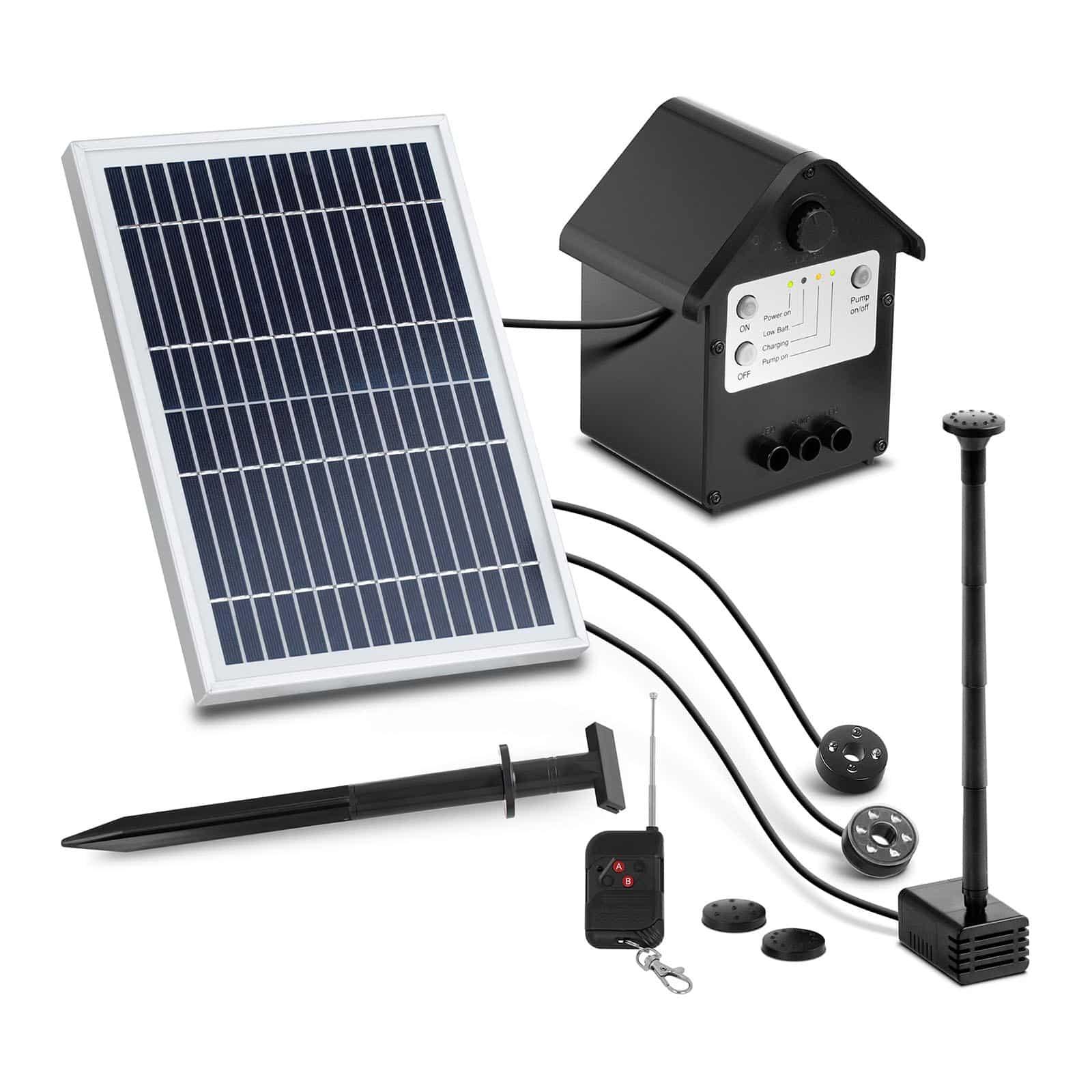 Solcelledrevne vanningssystemer
