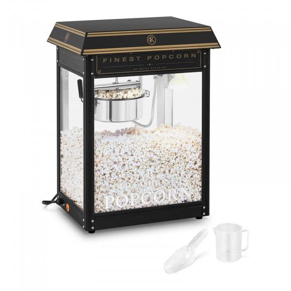 B-varer Popcornmaskin - sort og gull