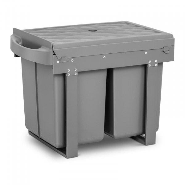 B-varer Avfallsbeholder til kjøkkenskap - 2 x 20 L