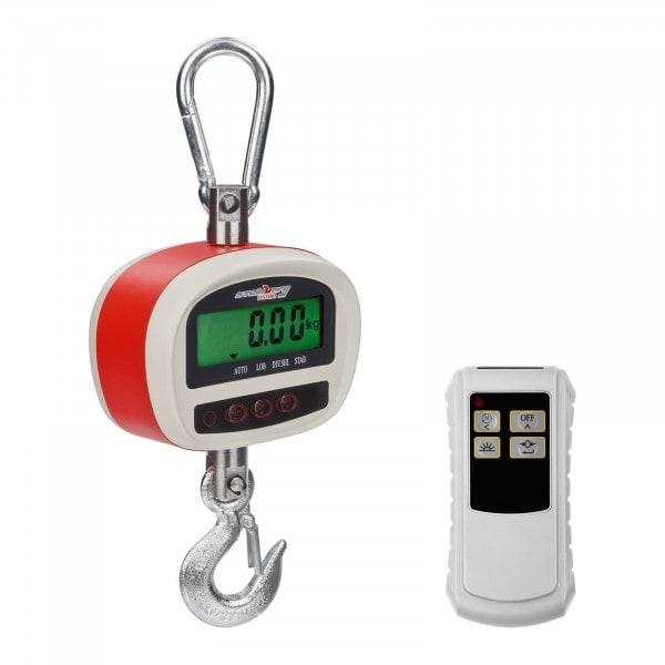B-varer Crane Scales - 300 kg / 50 g - LCD