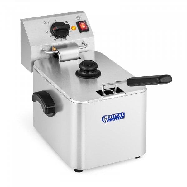 Frityrkoker elektrisk - 1 x 8 liter - EGO-termostat