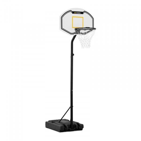B-varer Basketballkurv med stativ - høydejusterbar - 190 til 260 cm.
