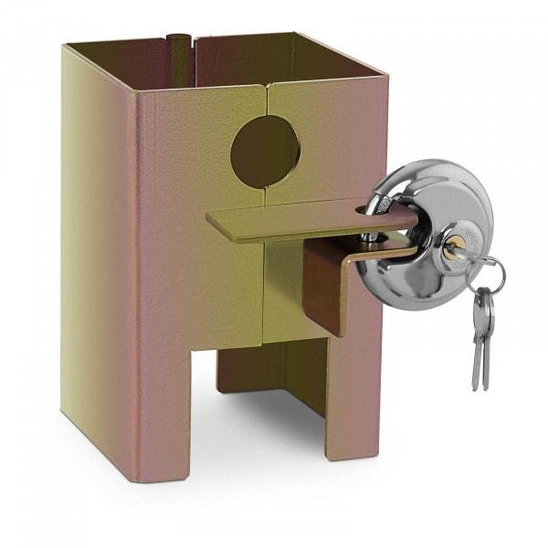 B-varer Trailerlås - 3 nøkler