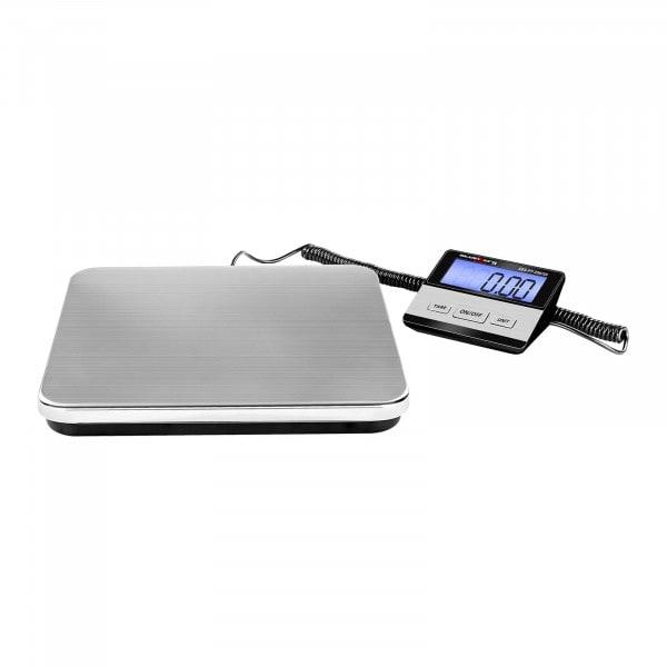 Digital pakkevekt - 200 kg / 50 g - Basic - ekstern LCD