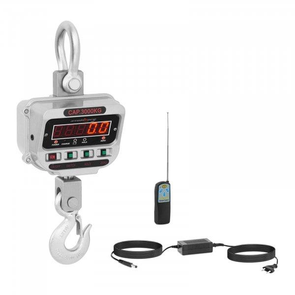 Kranvekt - 3 t / 0.5 kg - LED